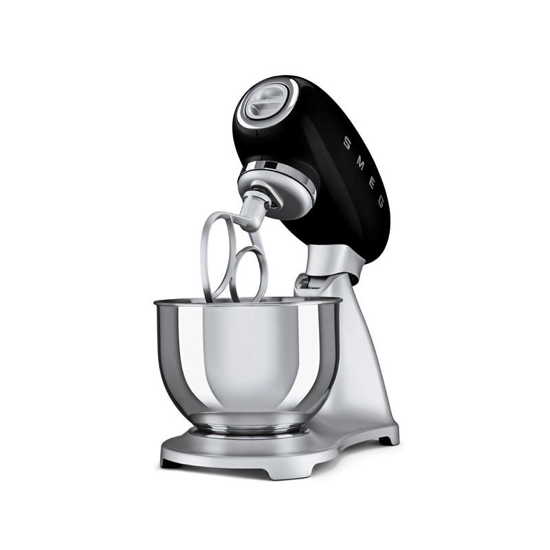 Small Exhibition Stand Mixer : Smeg stand mixer s style black smf bleu fab appliances