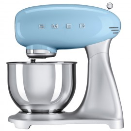 SMEG STAND MIXER 50'S STYLE PASTEL BLUE SMF01PBEU