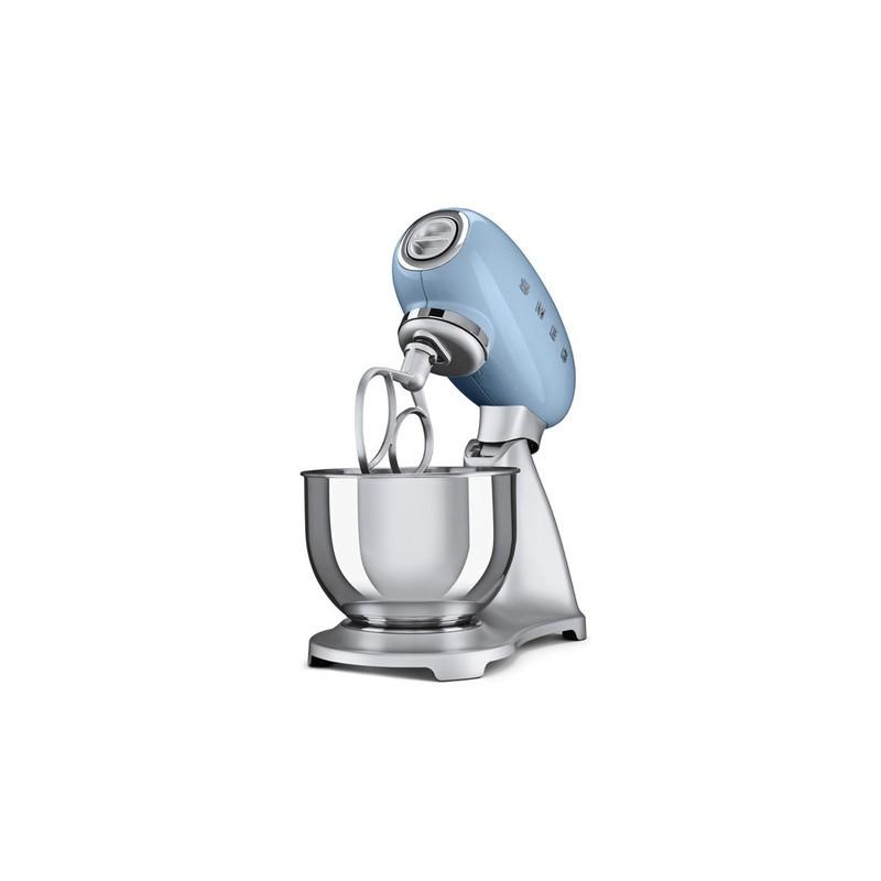 Robot de cocina smeg celeste smf01pbeu estilo a os 50 - Pequenos electrodomesticos de cocina ...