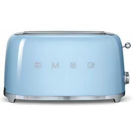 SMEG TOASTER 4 SLICES 50'S STYLE PASTEL BLUE TSF02PBEU