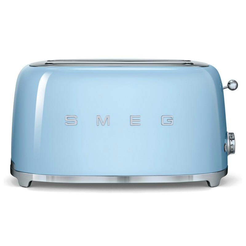 smeg 50er jahre retro stil 4 scheiben toaster tsf02pbeu. Black Bedroom Furniture Sets. Home Design Ideas
