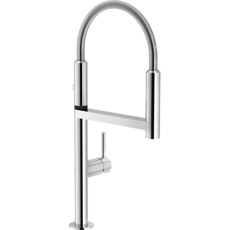 Nobili move robinet mitigeur monocommande avec douchette extractibl - Mitigeur avec douchette extractible ...