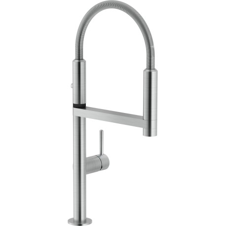 NOBILI MOVE SINGLE LEVER SINK MIXER KITCHEN TAP BRUSHED CHROME