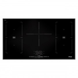 SMEG INDUCTION HOB SIM592B - 90 CM BEVELLED EDGES