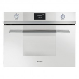 SMEG COMPACT MICROWAVE OVEN SF4120MB WHITE LINEA DESIGN 60 CM