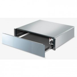 SMEG WARMING DRAWER CTP1015S SILVER GLASS AESTHETIC LINEA
