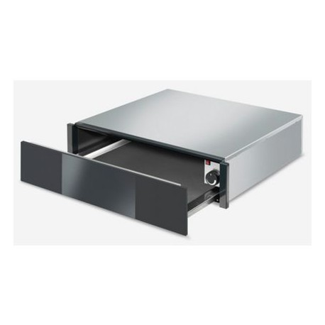 SMEG WARMING DRAWER CTP1015N BLACK GLASS AESTHETIC LINEA