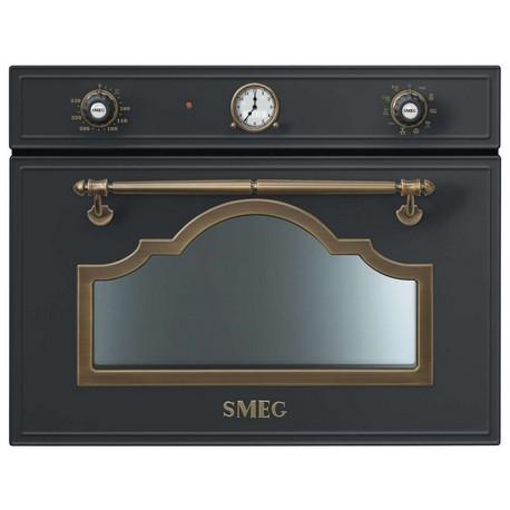 smeg cortina kompakt mikrowellenbackofen sf4750mcao. Black Bedroom Furniture Sets. Home Design Ideas