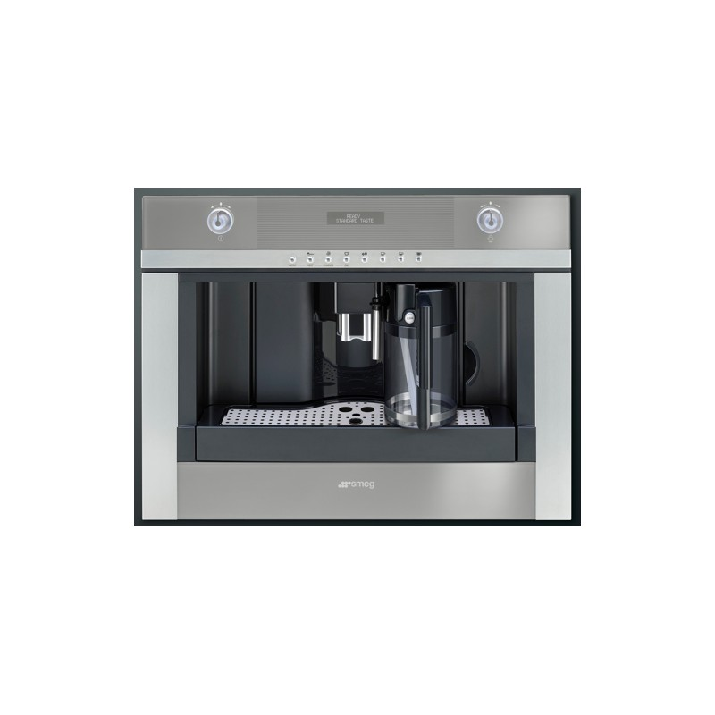SMEG BUILT-IN COFFEE MACHINE WITH CAPPUCCINO MAKER CMSC451 ...