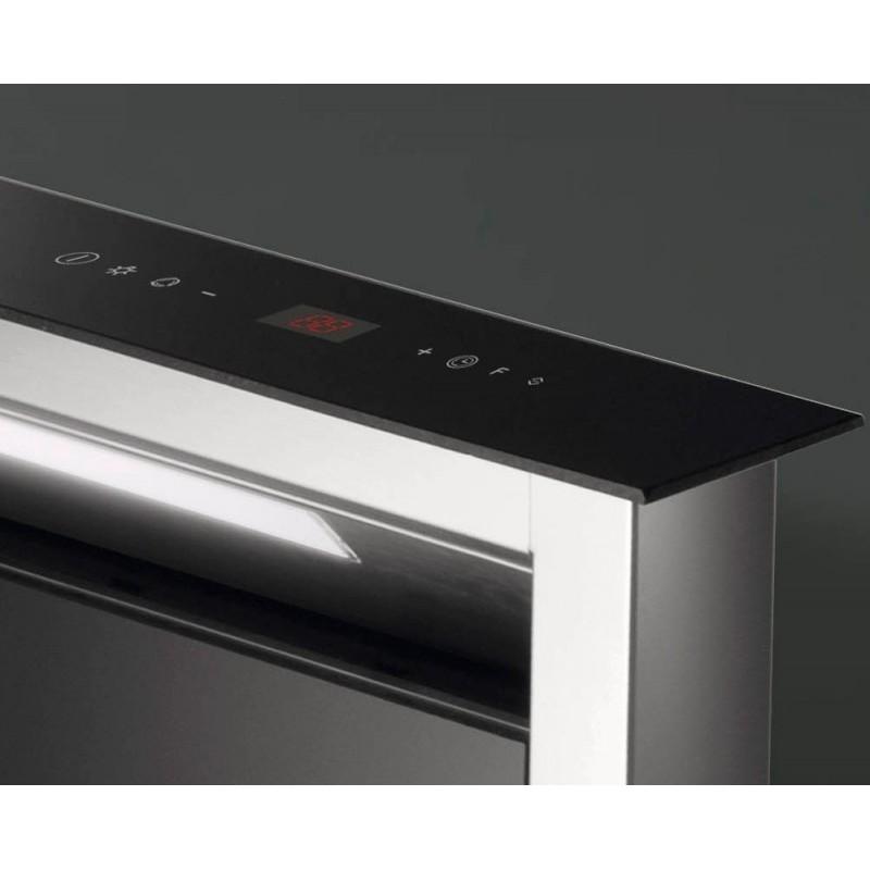 hotte de plan downdraft smeg kdd90vxe 90 cm acier inox et. Black Bedroom Furniture Sets. Home Design Ideas