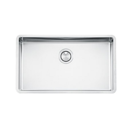 SMEG VSTR71-2 MIRA UNDERMOUNTED KITCHEN SINK SINGLE BOWL BRUSHED STAINLESS STEEL
