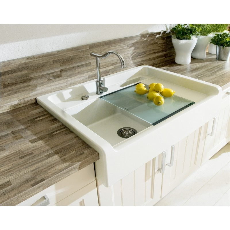 Schock countertop kitchen sink largo m100 1 bowl - Lavelli cucina ceramica dolomite ...