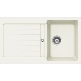 SCHOCK KITCHEN SINK TYPOS D100 AP - 1 BOWL CRISTALITE WHITE ALPINA