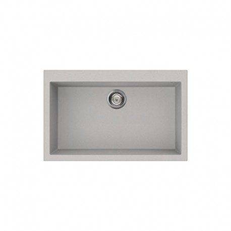 SMEG SYNTHETIC KITCHEN SINK VZ79AL RIGAE SERIES - 1 BOWL ALUMINIUM