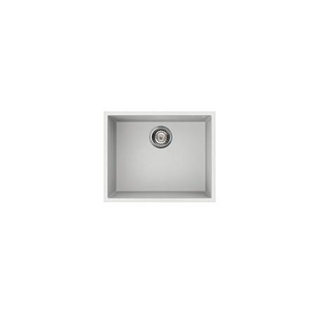 SMEG UNDERMOUNTED SYNTHETIC KITCHEN SINK VZUM57B RIGAE SERIES - 1 BOWL WHITE