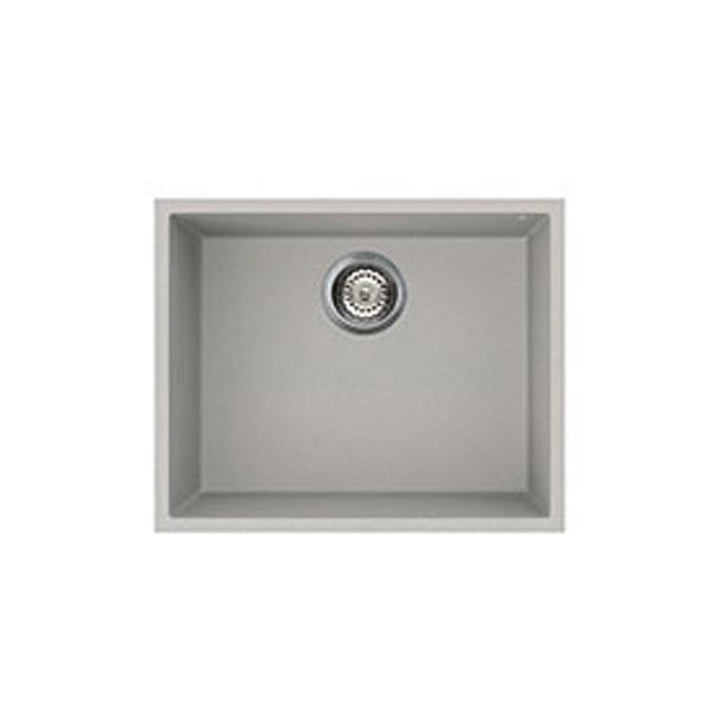 Aluminum Kitchen Sink : SMEG UNDERMOUNTED SYNTHETIC KITCHEN SINK VZUM57AL RIGAE SERIES - 1 ...