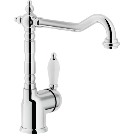 NOBILI ANTICA 18113 SINGLE LEVER SINK MIXER TAP CHROME