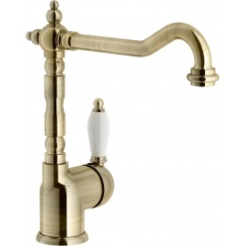 NOBILI ANTICA 18113 SINGLE LEVER SINK MIXER TAP BRONZE