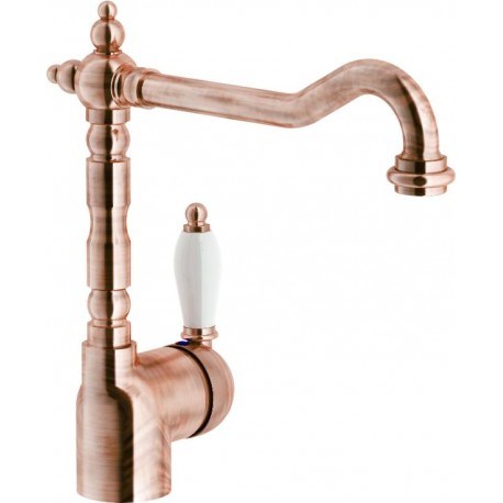 NOBILI ANTICA 18113 SINGLE LEVER SINK MIXER TAP COPPER