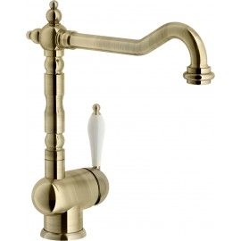 NOBILI ANTICA 18513 SINGLE LEVER SINK MIXER TAP BRONZE