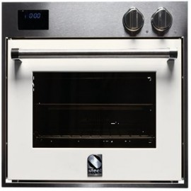 STEEL MULTIFUNCTION COMBI-STEAM OVEN GENESI SERIES GFE6-S STAINLESS STEEL AND NUVOLA 60 CM EEC A