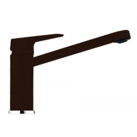FRANKE TICO SINGLE LEVER SINK MIXER TAP CHOCOLATE