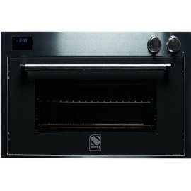 STEEL MULTIFUNCTION OVEN GENESI SERIES GFE9 STAINLESS STEEL AND ANTHRACITE 90 CM EEC A