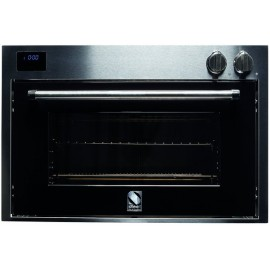 STEEL MULTIFUNCTION OVEN GENESI SERIES GFE9 STAINLESS STEEL AND BLACK 90 CM EEC A