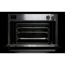 STEEL MULTIFUNCTION OVEN GENESI SERIES GFE9 STAINLESS STEEL AND AMETHYST 90 CM EEC A