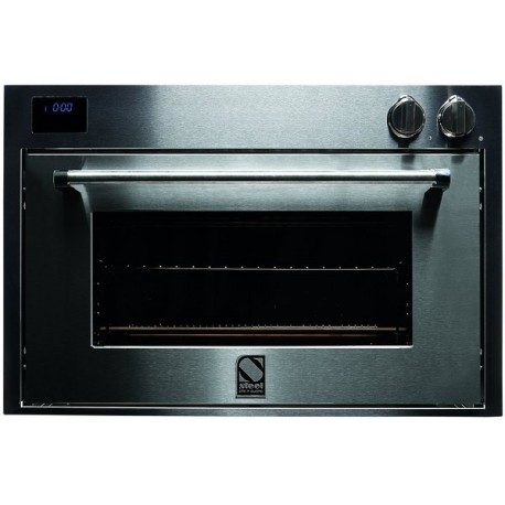 STEEL MULTIFUNCTION COMBI-STEAM OVEN GENESI SERIES GFE9-S STAINLESS STEEL 90 CM EEC A