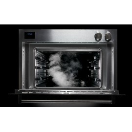 STEEL MULTIFUNCTION COMBI-STEAM OVEN GENESI SERIES GFE9-S STAINLESS STEEL AND BLACK 90 CM EEC A