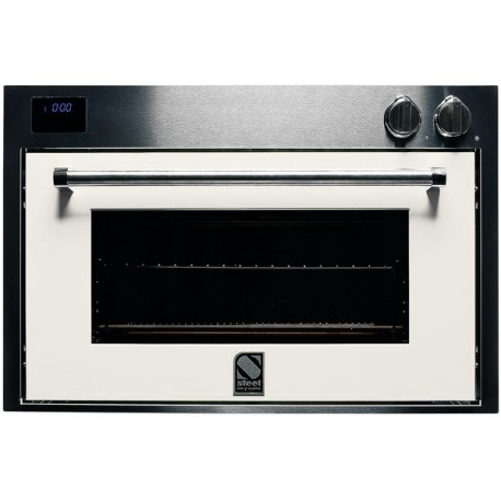 STEEL MULTIFUNCTION COMBI-STEAM OVEN GENESI SERIES GFE9-S STAINLESS STEEL AND NUVOLA 90 CM EEC A