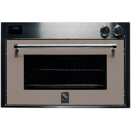 STEEL MULTIFUNCTION COMBI-STEAM OVEN GENESI SERIES GFE9-S STAINLESS STEEL AND SAND 90 CM EEC A