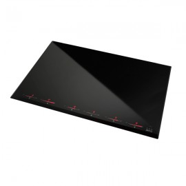 STEEL INDUCTION HOB GENESI GP8I-6 80 CM BEVELLED EDGES