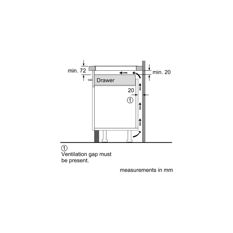 siemens induktionskochfeld eh611be10j 60 cm rahmenlos fab applia. Black Bedroom Furniture Sets. Home Design Ideas