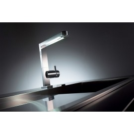FRANKE PLANAR LIGHT 050 SINGLE LEVER MIXER WITH LED LIGHT CHROME