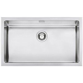 SMEG VQR71 MIRA KITCHEN SINK SINGLE BOWL BRUSHED STAINLESS STEEL