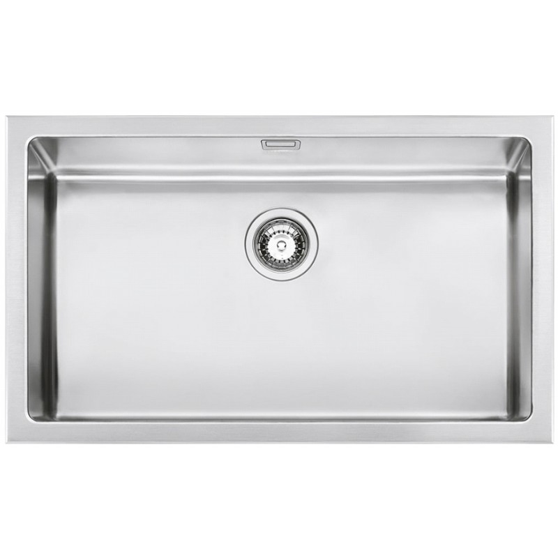 SMEG VQR71 MIRA KITCHEN SINK SINGLE BOWL BRUSHED STAINLESS STEEL |F...