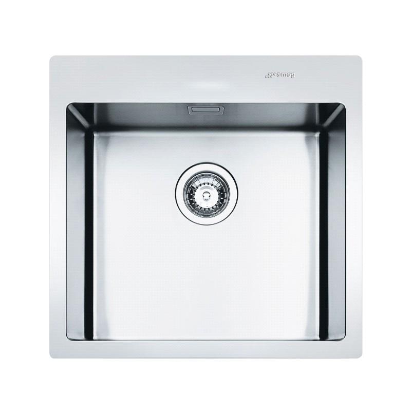 Flush Kitchen Sink : ... MIRA KITCHEN SINK 1 BOWL BRUSHED STAINLESS STEEL FLUSH FITTED 56 CM