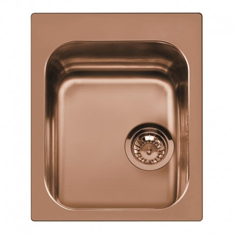 SMEG VS45P3RA KITCHEN SINK SINGLE BOWL COPPER 58 CM