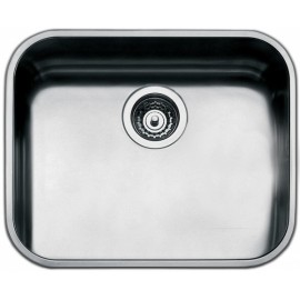 SMEG UM50 UNDERMOUNTED KITCHEN SINK SINGLE BOWL BRUSHED STAINLESS STEEL 50 CM