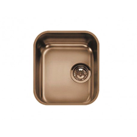 SMEG UM34RA UNDERMOUNTED KITCHEN SINK SINGLE BOWL COPPER 34 CM