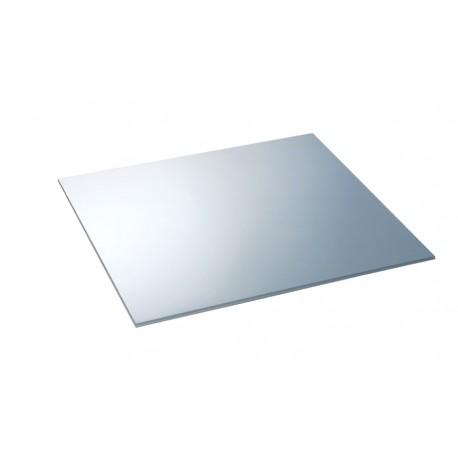 SMEG SILVER GLASS CHOPPING BOARD CVB40S - 45 CM