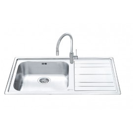 SMEG LEH150D RIGAE KITCHEN SINK 1 BOWL STAINLESS STEEL 100 CM