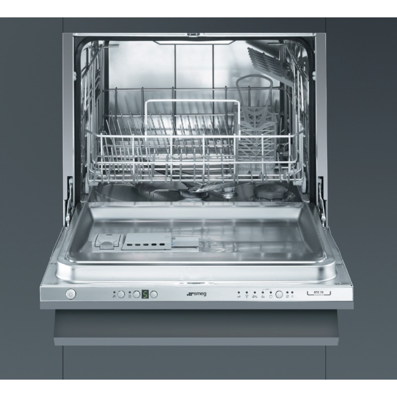 SMEG STC75 FULLY INTEGRATED PACT DISHWASHER 60 CM EEC A