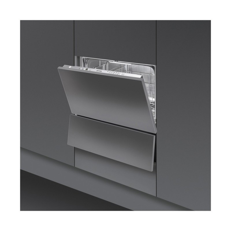 smeg stc75 vollintegrierbar geschirrsp ler 60 cm eek a. Black Bedroom Furniture Sets. Home Design Ideas