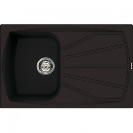 ELLECI KITCHEN SINK LIVING 300 1 BOWL BLACK MADE IN ITALY