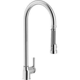 NOBILI NUVOLA NU12300CR SINGLE LEVER SINK MIXER TAP CHROME PLATED