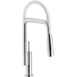 NOBILI AQUERELLI JOYSTICK SINGLE LEVER SINK MIXER TAP CHROME PLATED