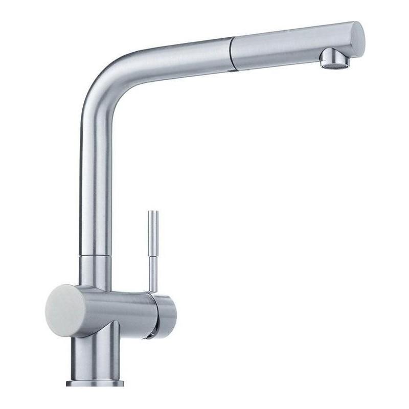 Franke Sink Mixer : FRANKE ATLAS SINGLE LEVER SINK MIXER TAP STAINLESS STEEL FAB Appli...